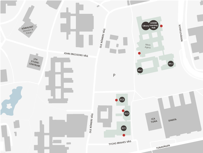 Printable campus map